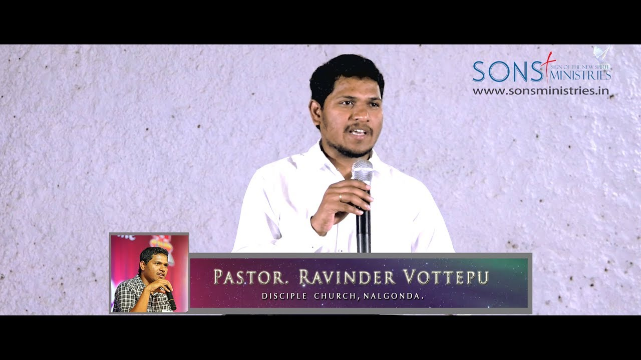 Why should a Christian choose  his friend's carefully? Message by Pastor. Ravinder Vottepu