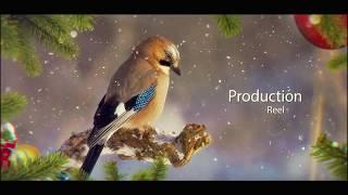 ЗИМНЕЕ СЛАЙДШОУ проект для фото видео скачать HD Christmas Slideshow After Effects project NEW YEAR