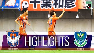 アルビレックス新潟vs栃木SC J2リーグ 第22節