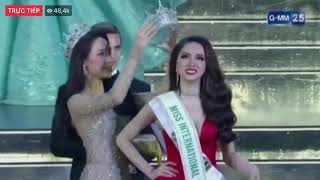Khoảng khắc đăng quang Hoa Hậu của Hương Giang Idol tại Miss International Queen 2018 thumbnail