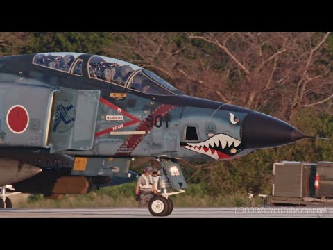 Blue Offshore Shark 901 ・ JASDF RF-4 Phantoms - ASMR