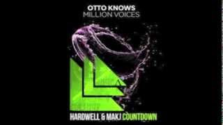 Otto Knows, Hardwell, Makj - Million Voices vs. Countdown (AngeΛ Mashup) [DJAngelEDM]