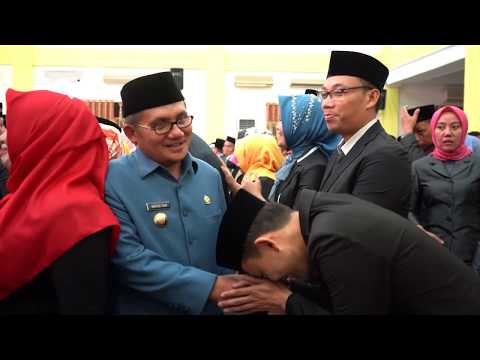 Pelantikan Esselon III dan IV Dilingkungan Pemkot Gorontalo