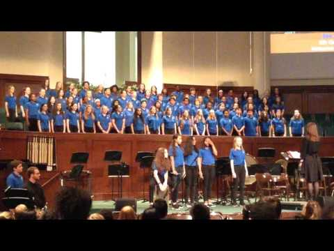 #SeeYouAgain - #WizKhalifa cover song - Trickum Middle School Chorus