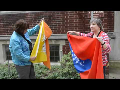 Flag Vandals Baffle Lancaster City Church