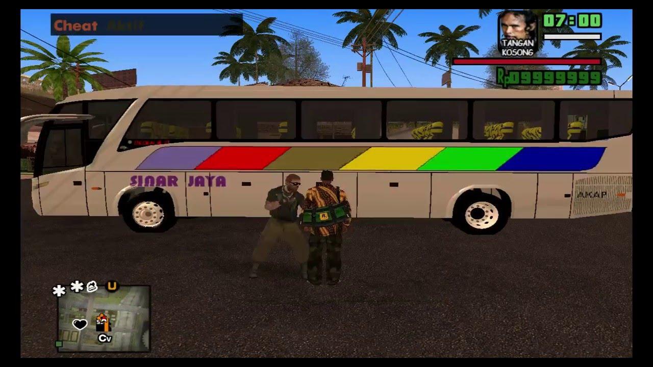 Gta Extreme Episode  Cj Pulang Kampung Via Bus
