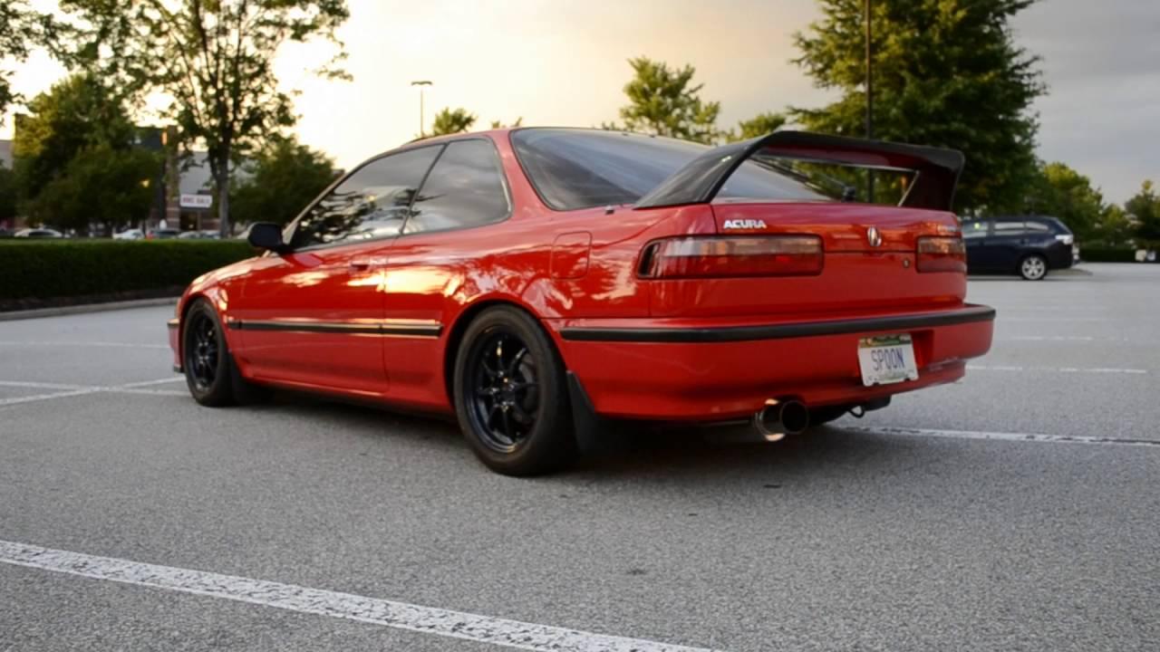 Maxresdefault on Acura Integra Red