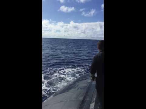 USS Olympia Swim Call 2016