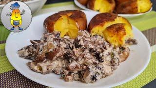 Что приготовить на ужин быстро или простой рецепт из грибов и картошки на скорую руку