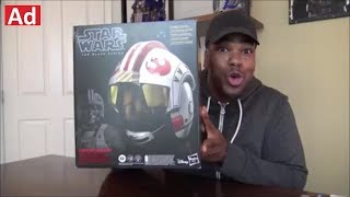 Star Wars Black Series Luke Skywalker Helmet - Unboxing!