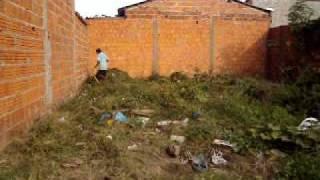 preparando o terreno para construir
