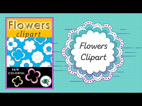 Flowers Clipart for teachers and educators from Planerium