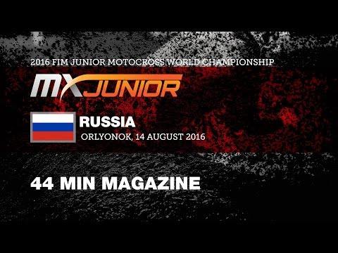 Behind the Gate 2016 FIM Junior Motocross World Championship Russia