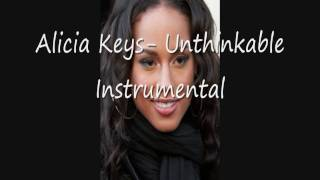 Alicia Keys - Unthinkable Instrumental [WITH DL AND LYRICS!]