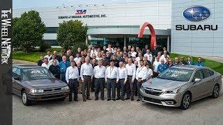 Subaru of Indiana Automotive celebrates 6 millionth vehicle and 30 years of production
