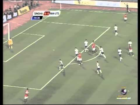 Manchester United vs Singha All-Star (Thailand) - 1st Half [PART1]