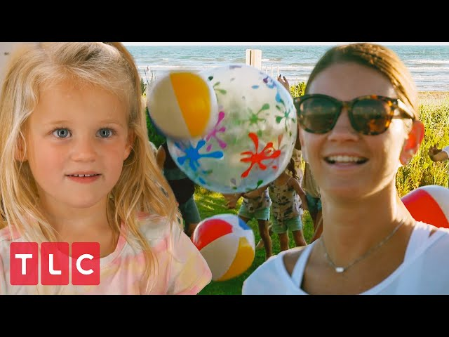 Uncle Dale's Surprise Beach Party! | OutDaughtered