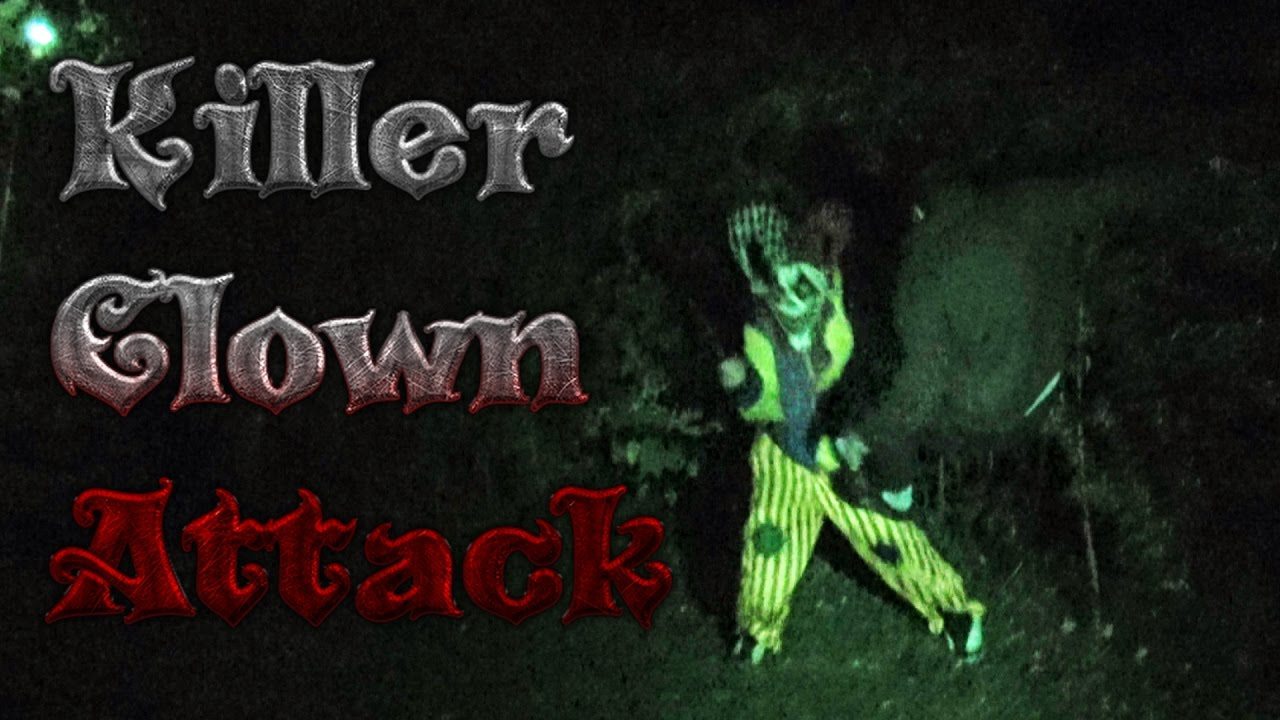 Killer Clown Attack in MA! (CRAZY FOOTAGE Caught Live on Facebook!)