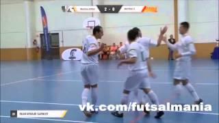 Голазо - футзал мини-футбол futsal skills goal tricks