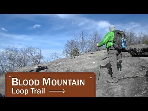 Blood Mountain Loop Trail-Day hike