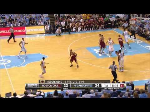 UNC Men's Basketball: Highlights vs. BC