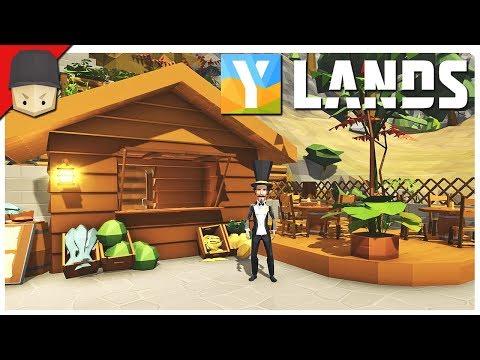 YLANDS - FOOD SHACK! : Ep.24 (Survival/Crafting/Exploration/Sandbox Game)