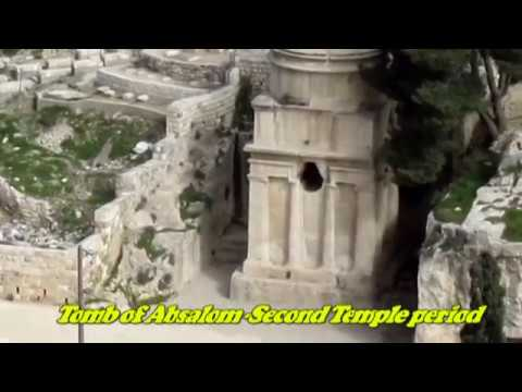 Absalom and Zechariah's Tombs in the Valley of Jehoshaphat, Kidron, Jerusalam Israel
