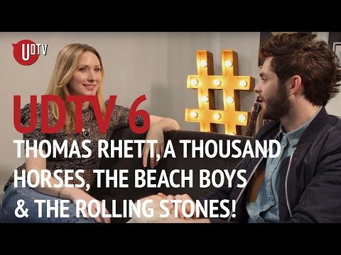 A Thousand Horses In Session, Thomas Rhett Interview + The Rolling Stones & The Beach Boys!