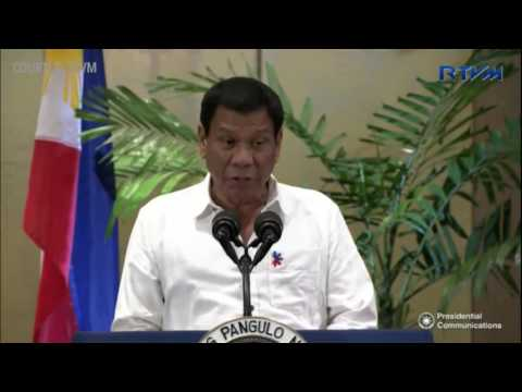 Duterte: I am a president who seeks peace for my land
