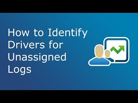 How to Identify Drivers for Unassigned Logs | MyGeotab