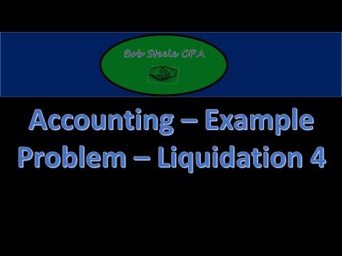 1200.80 Partnership Liquidation Assets Sold at Loss Part 2,