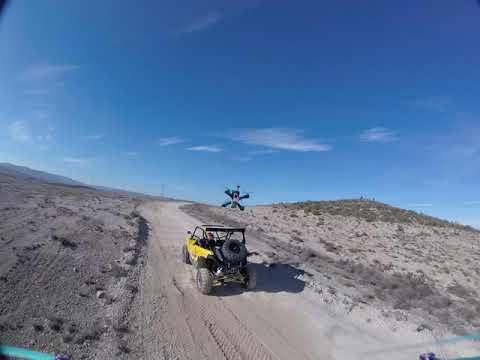 GOPR1818 Chasing Skydge driving the Yamaha Buggy YXZ