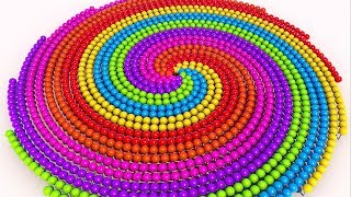 Learn Colors with NEW Spiral Lollipops toddlers video