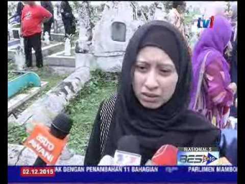 REAKSI ANAK-ANAK ALLAHYARHAM SENIWATI MARIANI [2 DIS 2015]