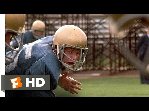 Rudy (2/8) Movie CLIP - First Practice (1993) HD