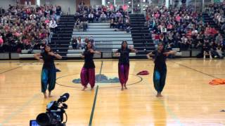 Indian dance for the 2015 BVSW Diversity Assembly