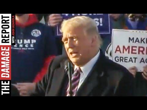 Trump Cheers Aryan Race (VIDEO)