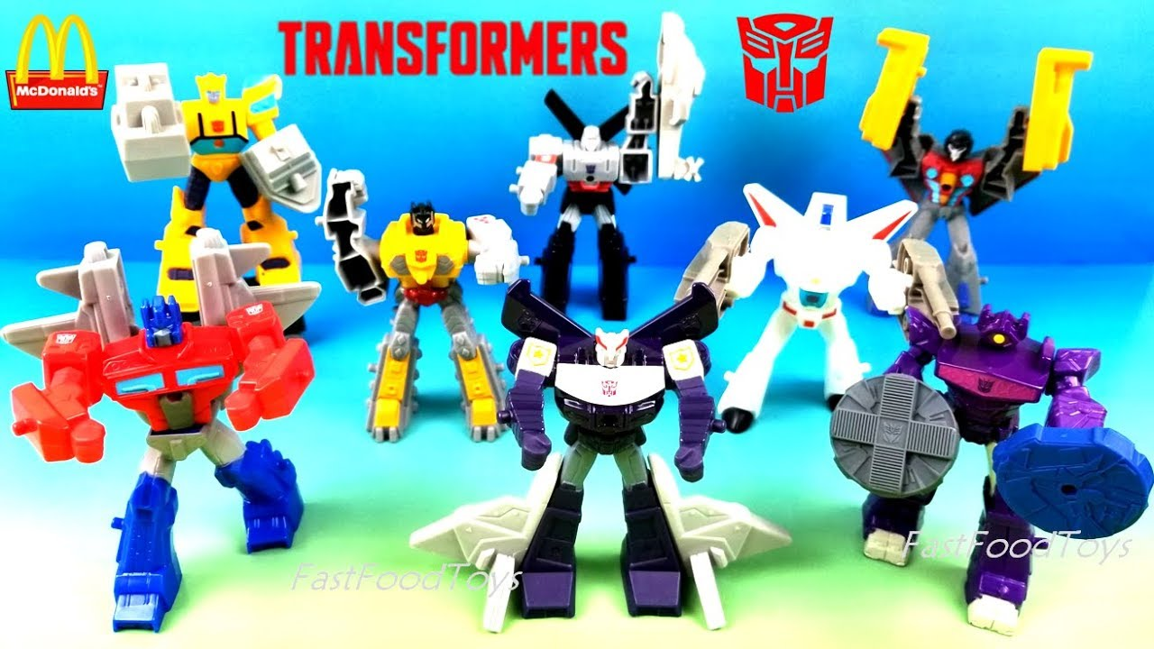 2019 Full World Set Mcdonald S Transformers Cyberverse