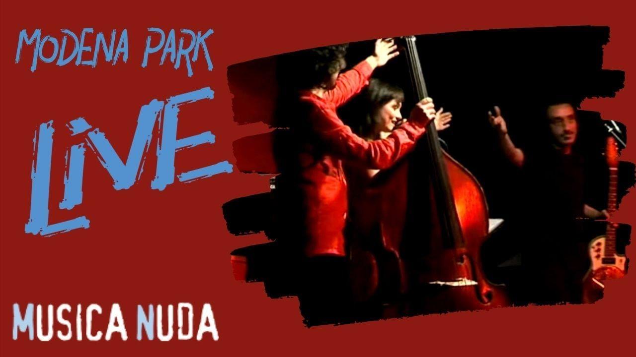 Musica Nuda Fausto Mesolella Modena Park Live Palma Di Roma Youtube