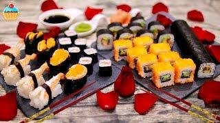 Праздничный ужин по-японски: суши и роллы с Makimaker - ну, оОчень вкусный!