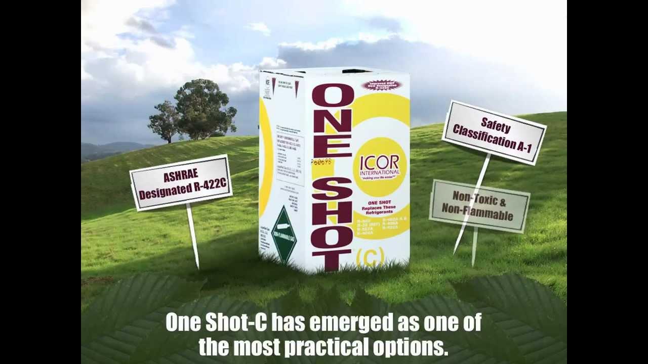 ICOR One Shot-C® | R-422C | Refrigerant