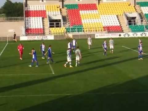 Shamrock Rovers vs Birmingham City - July 2013 - 1st half from 18mins onwards