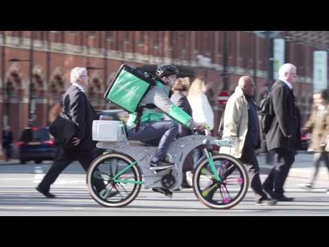 Deliveroo Upcycle Bike