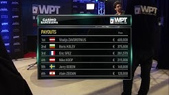 WPT Barcelona by partypoker Main Event Final Table