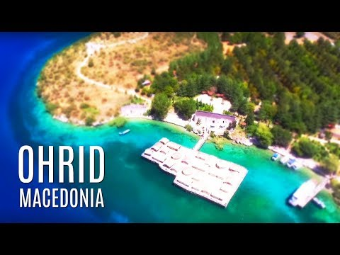 S4 E10: I ONLY eat glue.  Ohrid, Macedonia Travel Guide