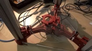 SoMakeIt 1st Oct 13 - Cerberus & Prusa I3 3D Printer Assembly, J Head MK5b Printing ABS, LED Cube