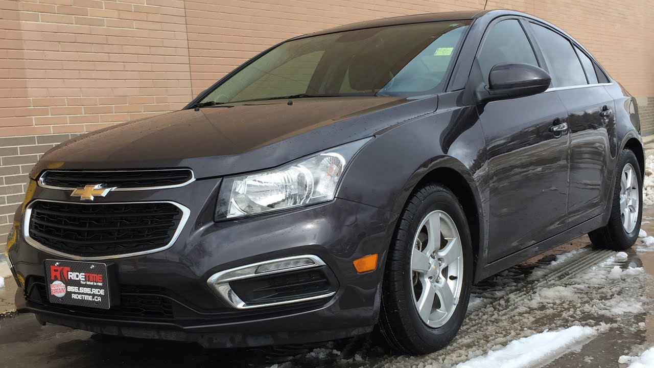 Cruze chevy cruze 2lt 2015 Chevrolet Cruze 2LT - Alloy Wheels, Backup Camera, Leather ...