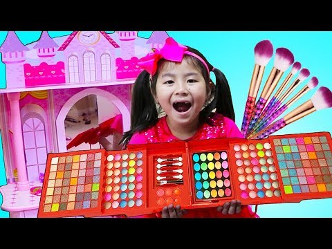 Jannie Pretend Play Sewing Princess Dress Up & Makeup Toys
