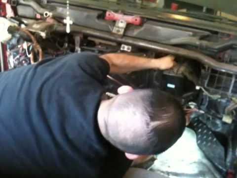1996 Isuzu Trooper Engine Diagram 95 Isuzu Pickup Removing The Heater Core Box Youtube