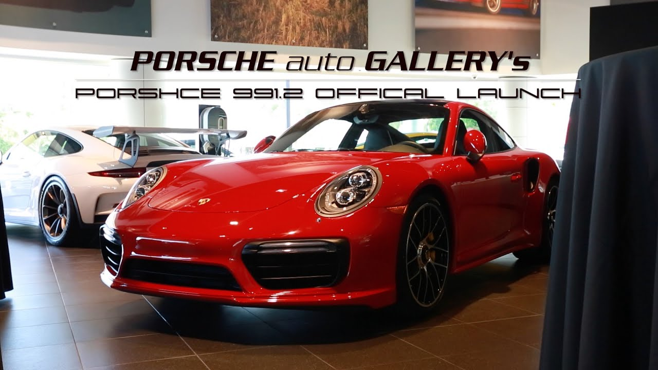 991.2 official launch at porsche auto gallery - youtube